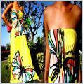 Sukienki letnie przepiekne niespotykane wzory rozm s/m, l/xl