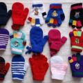 Zdjęcie: Totalna wyprzedaż dziecięcych rękawiczek - mix - 1zł