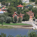 Zdjęcie: Wiejski kompleks na Dniestrze, Kamieniec Podolski