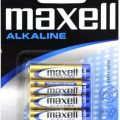 Zdjęcie: Baterie alkaliczne maxell